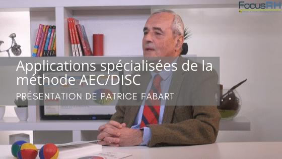 Applications opérationnelles de la Méthode Arc en Ciel DISC