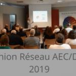 Réunion 2019 du réseau des consultants AEC DISC