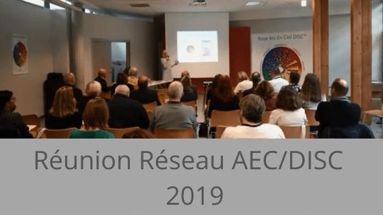 Réunion réseau du 7 octobre 2019