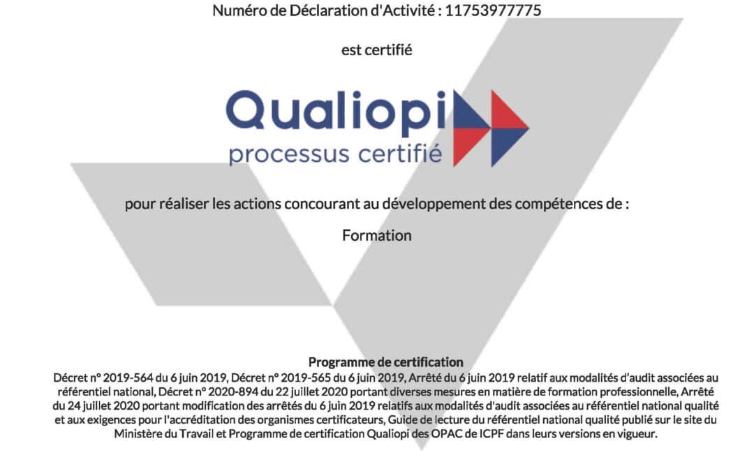 Arc-en-Ciel RH certificateur DISC certifié Qualiopi