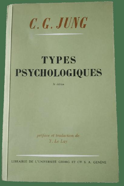 Livre de Carl Jung sur les types psychologiques